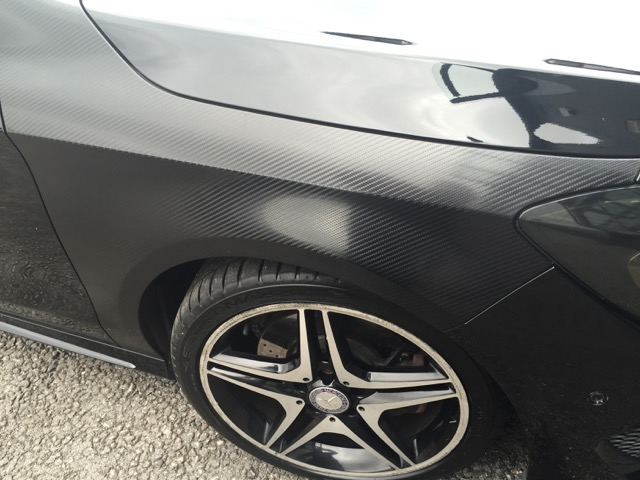 Mercedes Benz CLA: Various Work