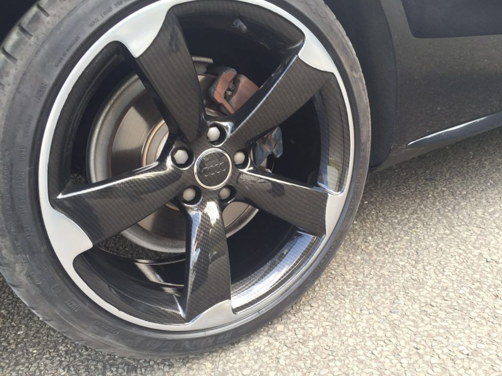 Audi A5: Repaired & Hydro-Dipped Alloys