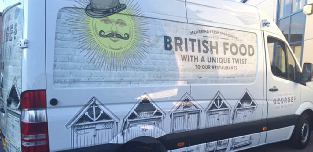 Georges Tradition: Van Signage/Wrap 2016
