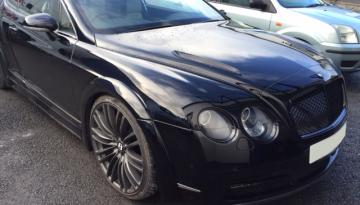Bentley GT Plasti-Dip Trims
