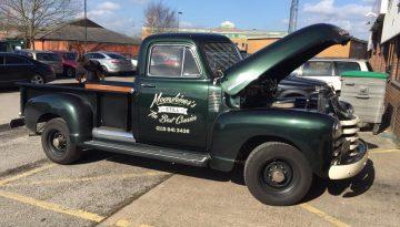 Vintage Chevrolet: Moonshiner's Signage