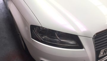 Vandalised Audi A3: Facelift