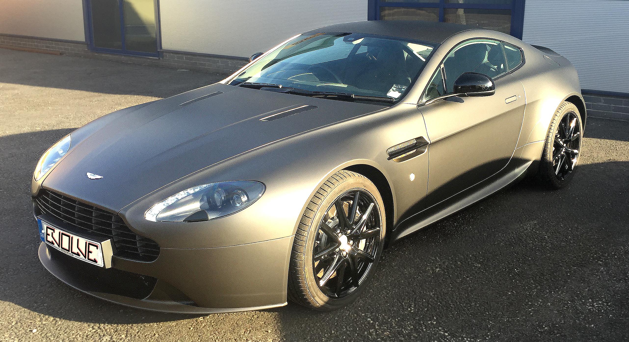 Aston Graphite Wrap Top