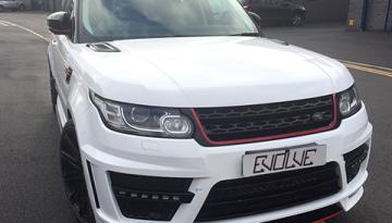 Range Rover Sport: Full Wrap and Bespoke Stripes