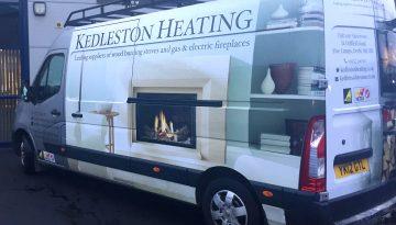 Kedleston Heating: Van Signage (Movano)